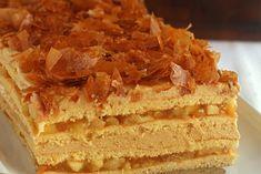 Prajitura cu mere si crema de caramel Chocolate Glaze Recipes, Romanian Desserts, Creme Caramel, Loaf Cake, Vanilla Cake, Tiramisu, Cheesecake, Sweets, Ethnic Recipes