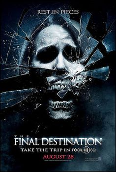 Horror Movie Poster tutorial with FREE . Final Destination Movies, Destination Finale, Horror Movie Posters, Film Posters, Horror Movies, Scary Movies, Great Movies, Amazing Movies, Stickers