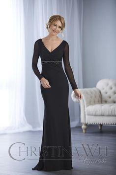 Mob Dresses, Types Of Dresses, Bridal Dresses, Christina Wu, Dress Websites, Trumpet Dress, Mother Of The Bride Gown, Bride Gowns, Mothers Dresses