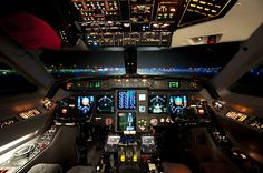 Gulfstream IV by James Keenan.  This is a flight simulator.