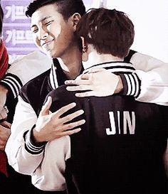 Namjoon e Jin