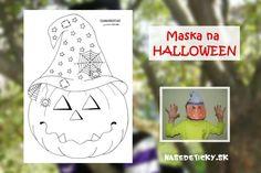 Maska na Halloween - Nasedeticky. Halloween, Spooky Halloween