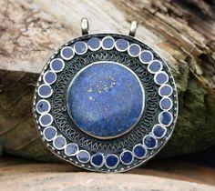 Beautiful Afghan pendant - look4treasures on Etsy