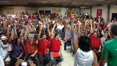 @: Delegados do PT aprovam moção de repúdio contra Ed...
