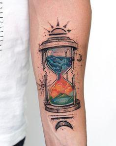 Aquarell-Tattoos verwandeln Ihren Körper in eine lebendige Leinwand Was ist ein Aquarell? Watercolor tattoos transform your body into a living canvas What is a watercolor? Neue Tattoos, Bild Tattoos, Body Art Tattoos, Sleeve Tattoos, Tatoos, Inka Tattoo, Diy Tattoo, Tattoo Fonts, Tattoo Ink
