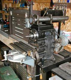 Engine Mill Feb/Mar 2002 issue of Mechanics Workshop Metal Mill, Metal Shop, Mechanical Workshop, Metal Workshop, Homemade Lathe, Homemade Tools, Grinding Machine, Milling Machine, Homemade Machine