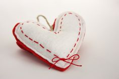 Valentine's Ornament, Felt heart