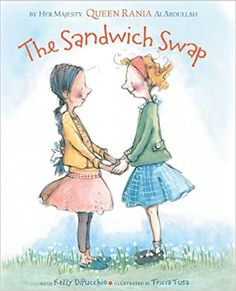 The Sandwich Swap: Queen Rania of Jordan Al Abdullah, Kelly DiPucchio, Tricia Tusa: 9781423124849: Amazon.com: Books Teaching Reading, Teaching Kids, Guided Reading, Mighty Girl, Tribute, Mentor Texts, Classroom Community, Thinking Day, Visible Thinking