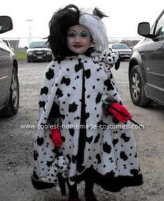 Cruella deville dalmatian halloween costume contest at costume homemade cruella deville halloween costume solutioingenieria Images