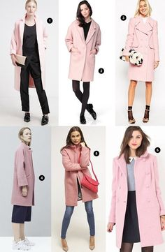 Pink Wool Coat, Pink Trench Coat, Winter Coat Outfits, Winter Fashion Outfits, Pink Denim Jacket, Mode Rose, Stylish Clothes For Women, Business Outfits, Moda Outfits