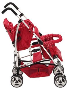 Coolest double umbrella stroller!.. checking out thestrollergirl.com see if she had a review on it.