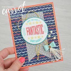 Stampin' Dolce: Cake Crazy Blog Hop - Crafty Carrot Co.