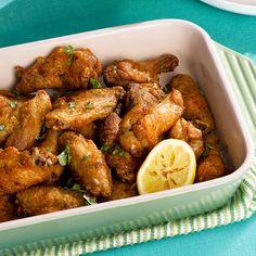 Crispy Curry Wings