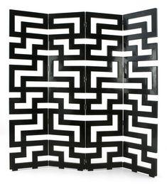 Christopher Guy - maze screen (greek key). Way cool!