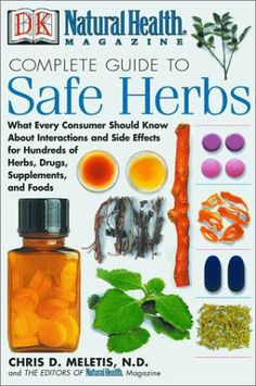 Natural Health Complete Guide to Safe Herbs: What Every Consumer Should Know About Interactions and Side Effects for Hundreds of Herbs, Drugs, Supplements, and Foods by Chris D. Meletis http://www.amazon.com/dp/0789480735/ref=cm_sw_r_pi_dp_wV0bwb1DSMB5X