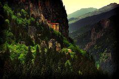Monastery ~ Dağdelen, Turkey... wowza!