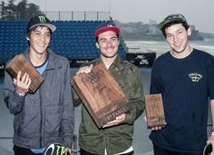 We were approached by Hurley to create a custom etched hardwood trophy for the 2014 Nike SB Classics Cup. The main competition set consisted of a huge 1st place trophy and two smaller 2nd & 3rd place trophies. We also created some extra competition trophies for the Best Trick & Highest Air competitions they had …