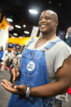 SDCC 2013, John Coffey from The Green Mile