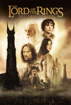 The Lord of the Rings : The Two Towers is a 2002 New Zealand-American epic high fantasy adventure filmdirected by Peter Jackson and based on the second volume of J. R. R. Tolkien's novel The Lord of the Rings. It is the second installment in The Lord of the Rings film series, preceded by The Fellowship of the Ring (2001) and concluding with The Return of the King (2003).