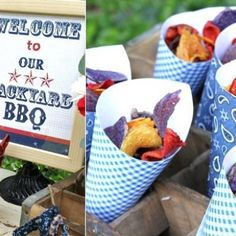 Hostess with the Mostess® - Backyard BBQ Bash Bbq Party, Party Fun, Party Snacks, Fresco, Outdoor Parties, Outdoor Entertaining, Summer Bbq, Backyard Bbq, Party Themes