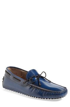 Tod's Tod's 'Gommini' Driving Shoe (Men) available at #Nordstrom