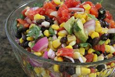 Mix and Match Mama:  Black Bean Dip, or can also be Black Bean Salad