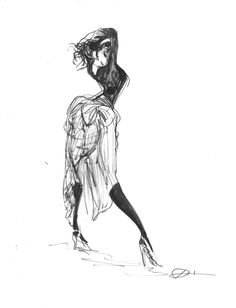 Gesture drawing by Donna Lee from class with Dave Pimentel