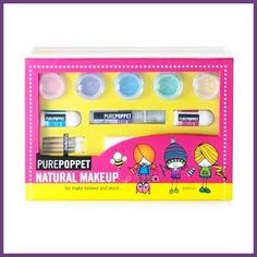 Pure Poppet natural makeup for kids