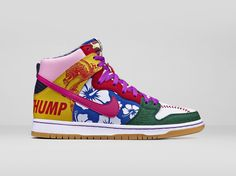 "Nike Dunk High SB ""What The Doernbecher"""