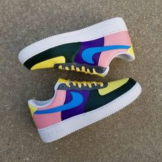 Nike Air Force 1 Wotherspoon Custom Sneakers | Etsy Best Sneakers, Custom Sneakers, Custom Shoes, Sneakers Fashion, Sneakers Nike, Custom Af1, Nike Air Force, Air Force Ones, Air Force 1