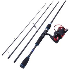 """Spinning Combo 6'9"""" Spinning Rod Carbon Fishing Rod With X2000 Spinning Reel"""