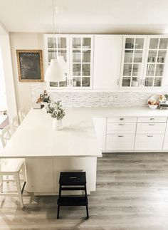 Why We Love Our Ikea Kitchen and You Will Too -You can find Ikea kitchen and more on our website.Why We Love Our Ikea Kitchen and You Will Too - White Ikea Kitchen, Diy Kitchen, Kitchen Decor, Kitchen Ideas, Kitchen Modern, Modern Kitchens, Rustic Kitchen, Kitchen Hacks, Ikea Kitchen Inspiration