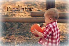 It's Pumpkin Pickin' Time!!