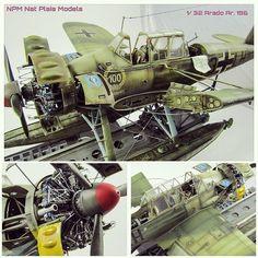 Arado Ar. 196 1/32 diorama. Modeler Nat Plaia #scalemodel #plastimodelismo #miniatura #maqueta #hobby #miniatur #plasticmodel #plastickits #usinadoskits #udk #arado