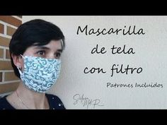 Como hacer MASCARILLA DE TELA O CUBREBOCAS con filtro DIY (incluye patrón gratis) - YouTube Sewing Crafts, Sewing Projects, Table Runner And Placemats, Woodworking Jobs, Clothing Hacks, Diy Cleaning Products, Diy Projects To Try, Sewing Clothes, Arm Warmers