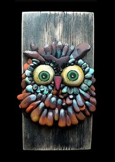 Beautiful Pebble owl
