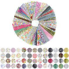 52 Hoja de 20 cm * 4 cm Color de La Mezcla de Transferencia Nail Foil Arte Diseño de La Flor Nail Art Sticker Decal Para El Cuidado de Uñas DIY Envío Libre WY209