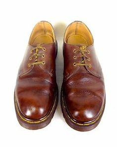 Dr Martens Shoes Leather Brown England Lace Up Original Oxfords Mens US 8 UK 7   eBay