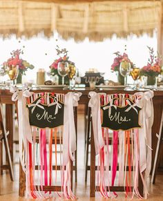 Chair Couture | Wedding Ideas that Reflect Your Style | MODWEDDINg.com