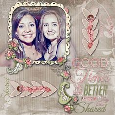 Friends come into our lives for a reason, a season, or a lifetime. Celebrate the friendships in your life by documenting those relationships and memories with Forever Friends Digital Scrapbooking Collection by Snickerdoodle Designs by Karen.