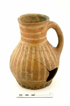 Jug, mid 13th-mid 14th century | Museum of London