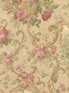 wallpaper you can order - I want this in fabric just like this for my bed
