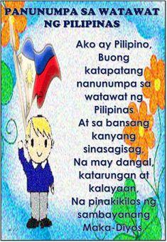 Teacher Fun Files: Lupang Hinirang, Panatang Makabayan at Panunumpa sa Watawat ng Pilipinas