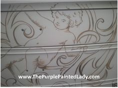 Chalk Paint® decorative paint by Annie Sloan used detailing.  More work to do - but this should give you an idea of the direction I am heading.  This paint is excellent and can be used in so many ways!  I love it!