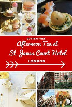 Gluten Free Afternoon Tea At St James Court Hotel London