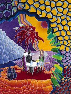 L'Aperitivo Oil on canvas 200x150 - 2011