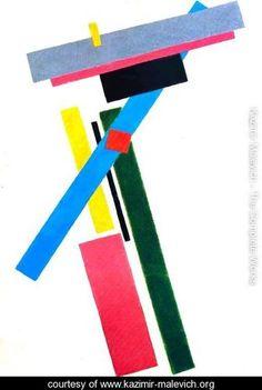 Suprematism 2 - Kazimir Severinovich Malevich - www.kazimir-malevich.org
