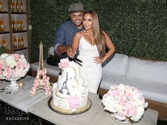 We are so happy for Adrienne Bailon and her new husband Israel Houghton! The pair got married in a fairy tale-style Paris wedding that took place on Friday! Adrienne Bailon Wedding, On Your Wedding Day, Dream Wedding, Toya Wright, Parisian Wedding, Parisian Cake, Engagement Celebration, Marrying My Best Friend, Celebs