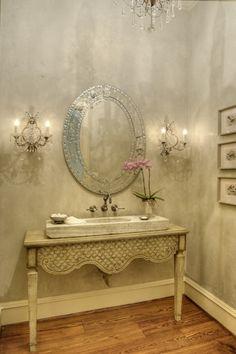 Fabulousness, powder room