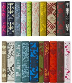 Beautiful and classic!  I've gotta find these Penguin editions.  I love a pretty hardcover book that can be passed down.